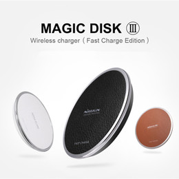 2016 New NILLKIN Magic disk III Quick Wireless charger For Mobile phone Fully upgraded Fast Charge Edition