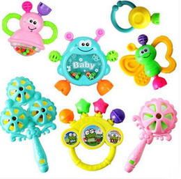 7pcs Lot Developmental Baby Toys Infant Early childhood educational toy Rattle