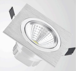 Wholesale price Hot sale Dimmable 9W 15W COB Led Downlight Recessed Ceiling Spot Light AC85-265V Cold White Warm White White Led Downlight