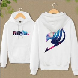 Wholesale-New Anime Fairy Tail Clothing Hooded Sweatshirt Casual Unisex Hoodie cosplay Hot Sale