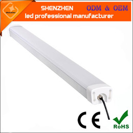Wholesale 3 years warranty IP65 waterproof full SMD2835 lm w w cm m ft mm led tri proof light waterproof led linear light