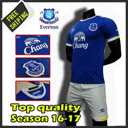 Wholesale New Everton Football Club soccer jerseys survetement football Everton maillot de foot shirts kits