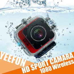 Feuillets vidéo en Ligne-Sport Camara Action Vidéo Photo Outdoor HD 1080 Wireless Wifi étanche 30m Slip Resistant Design Skid