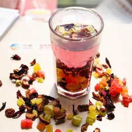 Wholesale New Artistic Organic Assorted Dried Fruit Tea Berry Kiwi Mixed Variety Blended Rich Fragrance Delicious Health Diet Beauty