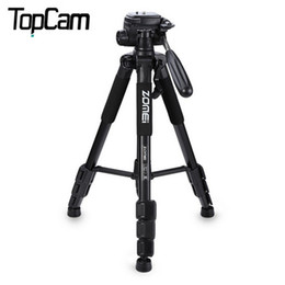 Wholesale 2016 New Zomei Professional Tripod Portable Pro Aluminium Tripod Camera Stand with way Pan Head for Digital Dslr