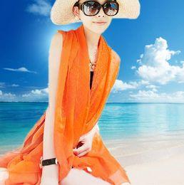Wholesale Swimsuit Cover Up Towel - 2016 Women swimsuit veil Summer Beach towels Style bikini wrap dress Beach plus size swimwear