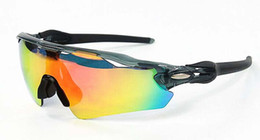 Wholesale 2016 New Brand Radar EV Pitch Polarized sun glasses coating sunglass for women man sport sunglasses glasses Cycling Eyewear