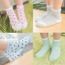 Wholesale Children Socks Manufacturers Cotton Goods Zhuo On The Moon And Stars Mesh Socks Pure Cotton Socks Infant Baby