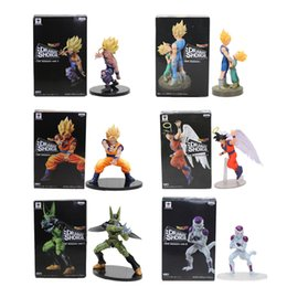 New Banpresto Dramatic Showcase Dragon Ball Z Kai Goku Gohan and Cell PVC Action Figure Model 12cm-17cm