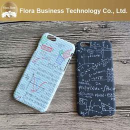 Wholesale Hard PC Cheap Price Love Mathematical Formula Math Couple Black White Case for iPhone Apple s s plus splus