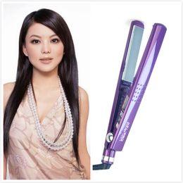 Wholesale 450F hair straightening Iron straightener pranchas de cabelo styling tools Digital Anti Static Ceramic Hair Straightener Inch