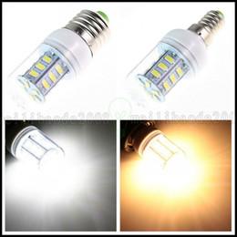 2017 ampoule g9 conduit E27 / GU10 / E14 / G9 5W 24 5730 SMD Led 110V lampe ampoule / 220V Cover LLWA201 bon marché ampoule g9 conduit