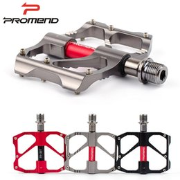 Wholesale PROMEND bicycle pedal light weight road MTB bike pedal colors non slip aluminium alloy cycling pedals bicycle parts