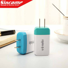 Universal USB Charger Home Travel Adapter Dual USB Port 2.1A Wall Chargers for iPhone Samsung HTC LG Cell Phones Mp3 Mp4