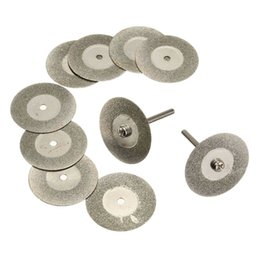 Wholesale Best Price Saw Blade Saw Blade mm Mini Diamond Cutting Discs X Arbor for Dremel Drill Fit Rotary Tool Top Quality