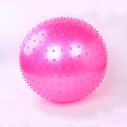 Wholesale Fitness Exercise Swiss Gym Fit Yoga Core Ball cm Abdominal Back leg Workout Gym Home Balance Exercise trainer Explosion proof