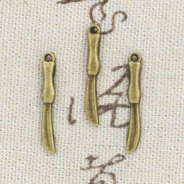 Wholesale 200pcs Charms surgical knife mm Antique Making pendant fit Vintage Tibetan Bronze DIY bracelet necklace