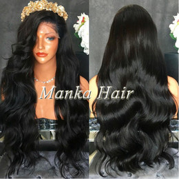 top quality full density Human Hair wigs Full Lace Wig in Natural baby hair natural hairline Lace Front Wig Glueless Wig
