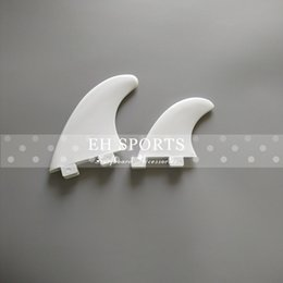 Wholesale Most In stock for Fast Shipping white color none logo surfboard G5 and GL fins
