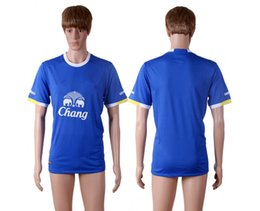 Wholesale 16 Everton Soccer Jerseys Best Thailand Quality Cheaper Discount LUKAKU MIRALLAS BARKLEY ETO O Soccer Jersey Football Jersey