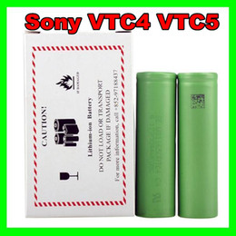 Wholesale Newset rechargeable batteries for sony li ion battery US18650 VTC3 VTC4 VTC5 vs aa rechargeable battery Free Fedex