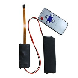 Wholesale HD DIY Mini Camera Module With Remote Controller Recording Video Audio And Taking Photos Adapt Any other Digital Camera