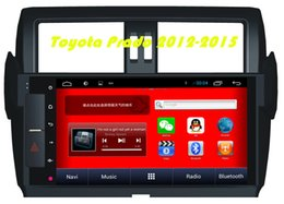 Wholesale Corolla Radio Bluetooth - D90-9008 FOR Toyota Prado 2012-2015 Car dvd Android 4.4 GPS Car Navigation Player With WIFI 10.1 Inch with Capacitive Screen In-dash