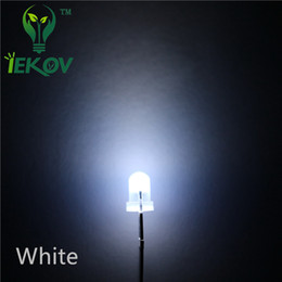 10000pcs lot 3MM Round Top Diffused White Leds Urtal Bright Bulb Light 3MM Emitting Diodes Electronic Components High Quality Wholesale