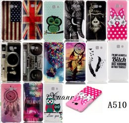 Wholesale For Samsung Galaxy A510 Cute Funny TPU Case Silicone IMD Picture Painted Soft Silicon Back Cover For Samsung A510