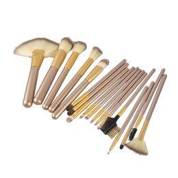 12 18 24pcs Makeup Brush Set Kit Professional Makeup Brushes Foundation Powder Blush Eyes Brushes Cosmetics Brush with bag