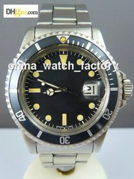 Wholesale WATCHES A0050 VINTAGE PERPETUAL DATE MENS STAINLESS WATCH