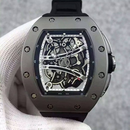 HIGH QUALITY AUTOMATIC MEN WATCH SAPPHIRE MECHANICAL WRISTWATCH COOL SPORT WATCHES 011 032 RUBBER STRAP.