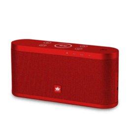 Acheter en ligne Boîte de haut-parleur de radio-Original KingOne K9 Super Bass Bluetooth4.0 avec radio FM TF carte jouer appel stéréo boîte Musique Métal enceinte sans fil mains libres