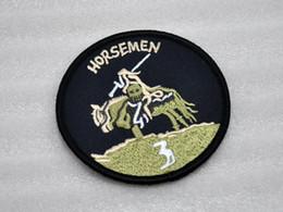 Wholesale US Naval Special Warfare Group DEVGRU SEAL Team Seals3 HORSEMEN armband badges