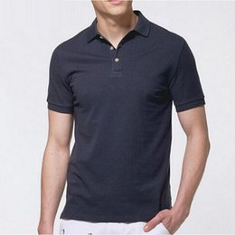 Wholesale-Men's Small horse Polos Homme Shirt Brand Summer male Short Sleeve Men Polos Shirts Masculina plus Size camisetas hombre