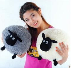 Wholesale 30cm shaun sean sheep flock mutton jumbuck plush soft stuffed doll toys for children