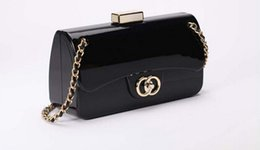 Wholesale Brand CC Evening Handbag Acrylic Clutch Purse Stylish Bag Perfume Luxury Acrylic Bags