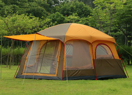 Wholesale Big family tent Outdoor Persons Family Camping Hiking Party Large Tents Hall Room camping tent for sale