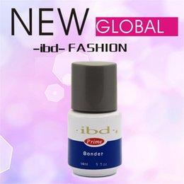 Wholesale IBD Bonder UV Nail Non acid Primer oz ML salon for UV Gel Acrylic lasting bond odorless Binders Base Coat EA07