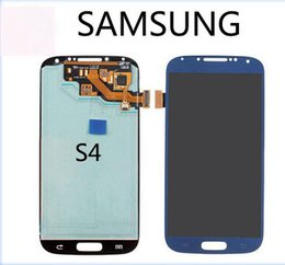Wholesale Original Have stock LCD display Samsung S4 Hight quality Cell Phone LCD Touch Panels Cell Phone Parts Samsung Galaxy S4 Cell Phone LCD