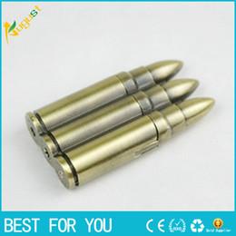 Bullet shape cigarette lighters Windproof gas lighter Green Arrow Flame LIGHTER Gadget for smoke cigarette Cigar