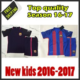 Wholesale New arrived away purple kids jersey The latest version of the jersey Thailand quality of the jerseys customize