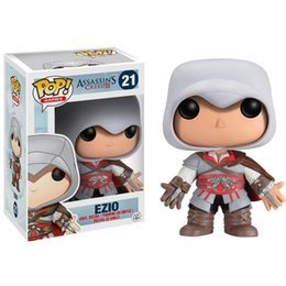 Funko POP Games Assassin's Creed Ezio Action Figure Model Collection with gift box