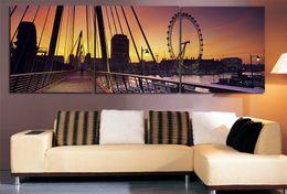 Wholesale 2016 New Style For Wall Paper Home decora Canvas Prints Living Room Wall Painting Bridge Landscape Art Paints Ideas Canvas