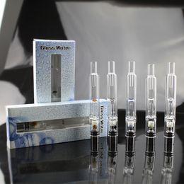 Pyrex Glass Water Atomizer - Hookah Pen Smoking Pipes ecig Tank Dry Herb Wax Vaporizer Glass Shisha Atomizer for EGO Evod Battery