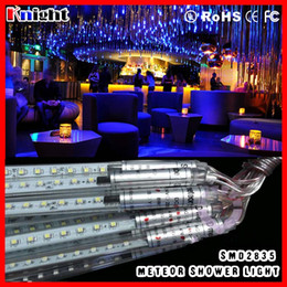 smd2835 shower rain meteor tube 300-500-800MM led rain lights set 0.3m 0.5m 0.8m smd3528 Meteor Shower tree decrotation light 100pcs lot