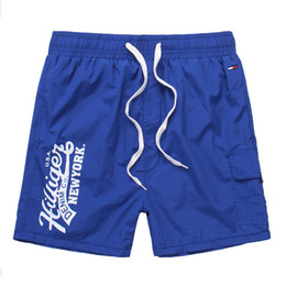 Wholesale 2016 New Arrived Men s beach Tommy Casual shorts Male Fashion Summer Swimming shorts T008