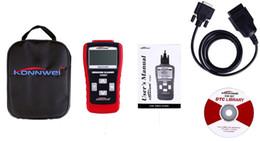 Wholesale New KW807 Automotive Diagnostics Tools GS500 OBD II Scanner Automotive Truck Diagnostic Scanner Tool Computer Vehicle Fault Code Reader Scan