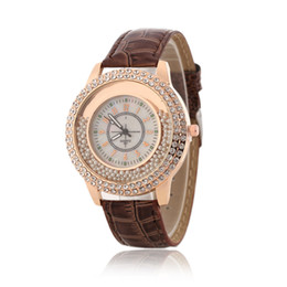 Women Dress Leather Strap Watch GoGoey diamond watches fashion watches ladies watches female models quicksand Spot hot models