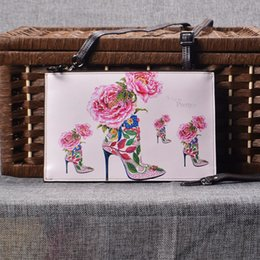 New Korean Creative Painting Leather Ladies Single Shoulder Bag Retro Fashion Bags 12 Style Free Shipping